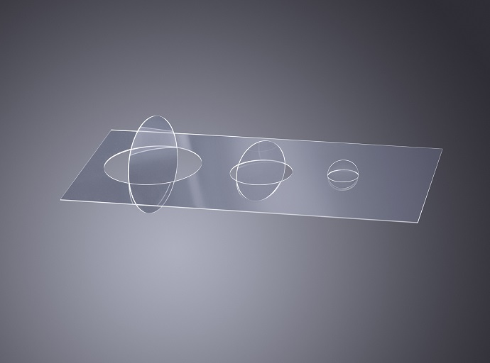 Cleaving glass with material modification