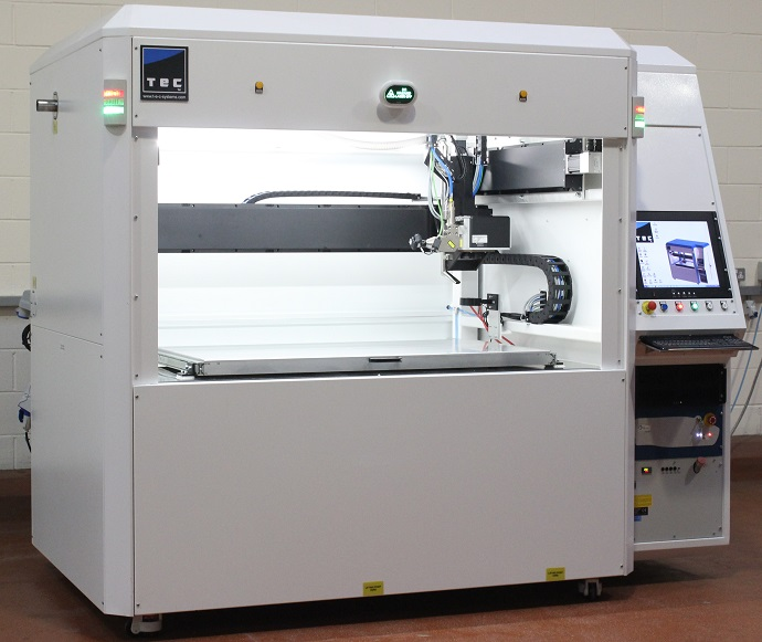 Composite flatbed laser cutting machine