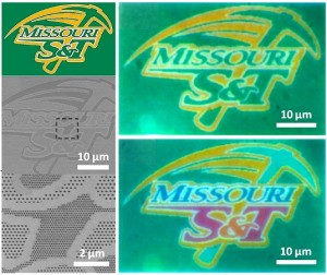 Researchers demonstrate no-ink color printing with nanomaterials