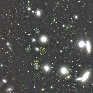 Astronomers Discover 854 Ultra-Dark Galaxies in the Famous Coma Cluster