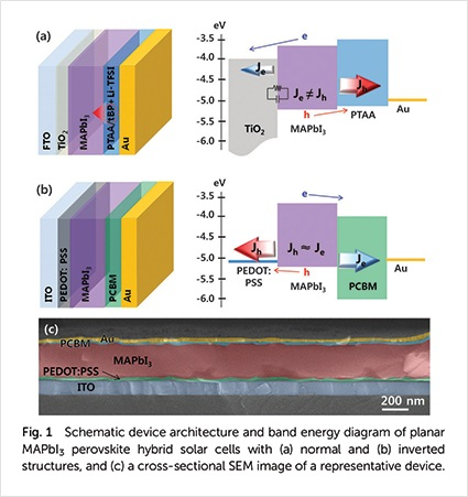 Next Generation Perovskite Solar Cells with Improved Efficiency and Durability