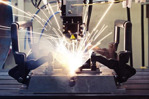 Laser welding of steel and aluminum