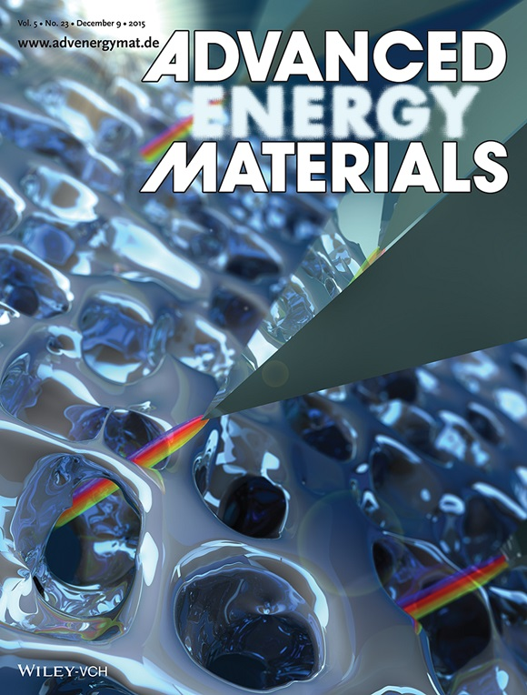 Advanced Energy Materials cover