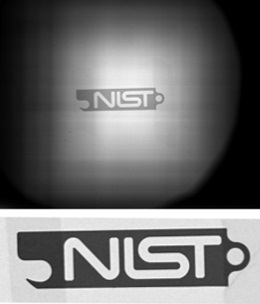 First image taken with NIST's new cold neutron imaging facility
