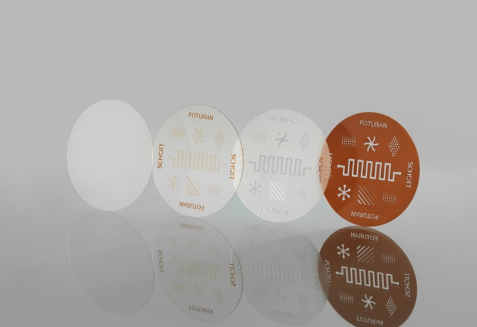 SCHOTT's photo-sensitive FOTURAN® II glass wafers