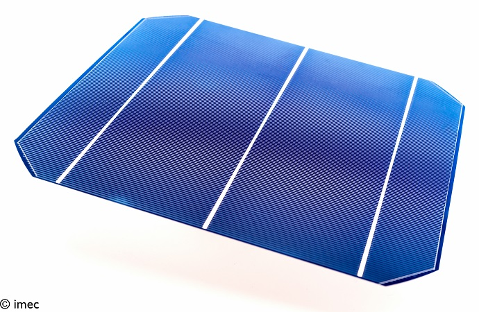 iPERC silicon solar cell