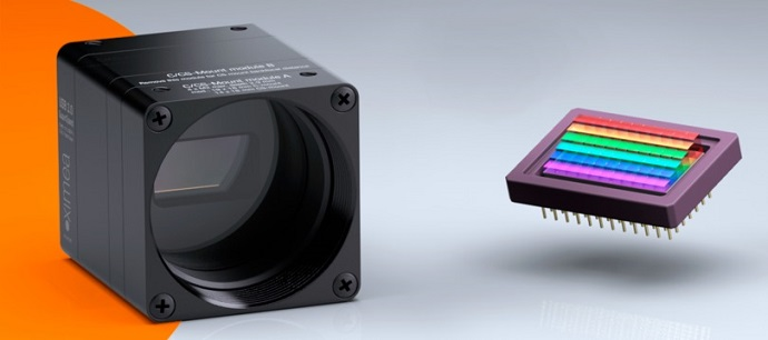 XIMEA releases new Linescan 470-900nm model of compact USB3-Vision Hyperspectral camera