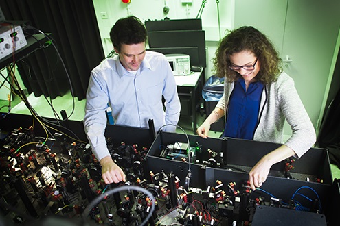 Researchers demonstrate error-corrected building block of a quantum computer