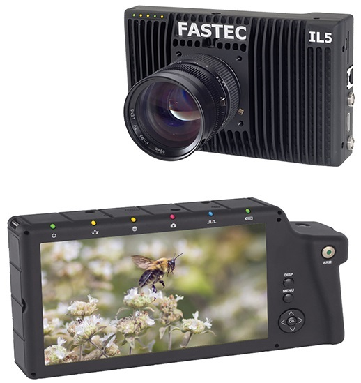 TS5 and IL5 high-speed cameras