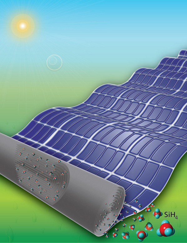 New technique could make large, flexible solar panels more feasible