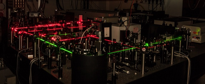 Laser Lab where parts of the research work has been conducted
