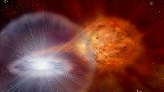 Supernova reserve fuel tank clue to big parents
