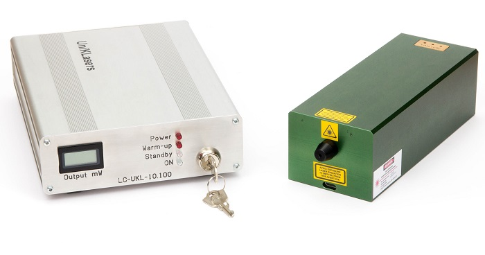 UniKLasers Ltd. is expanding its CW single-frequency DPSS laser series towards the UV by introducing a new model at 320 nm.