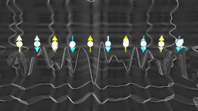 Disorder in the magnetic environment of trapped ions can lead to a memory of their initial state