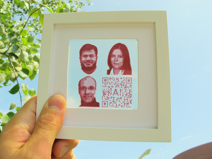 Researchers printed energy producing photographs