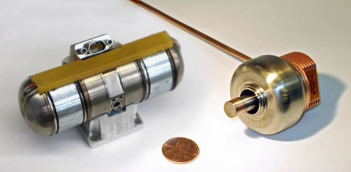 The Fast Cool Down Microcryocooler can cool an IR sensor in 3 minutes