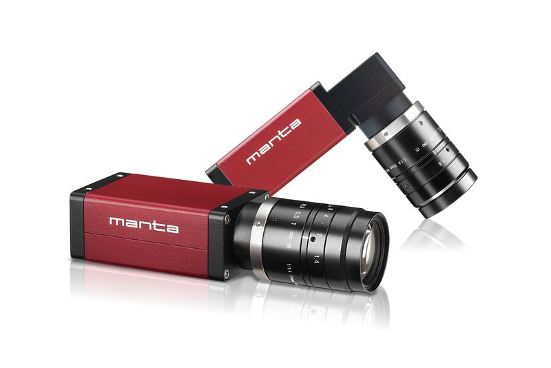 Versatile GigE-Vision camera Manta with latest CMOS sensors