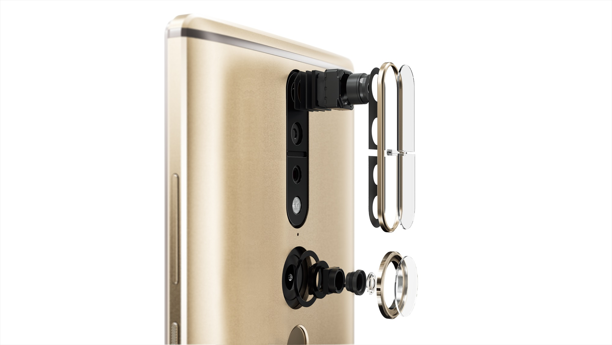 Schematic picture of Lenovo's new PHAB2 Pro smartphone