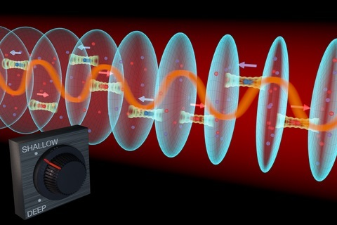 JILA physicists used a strontium lattice atomic clock to simulate magnetic properties long sought in solid materials