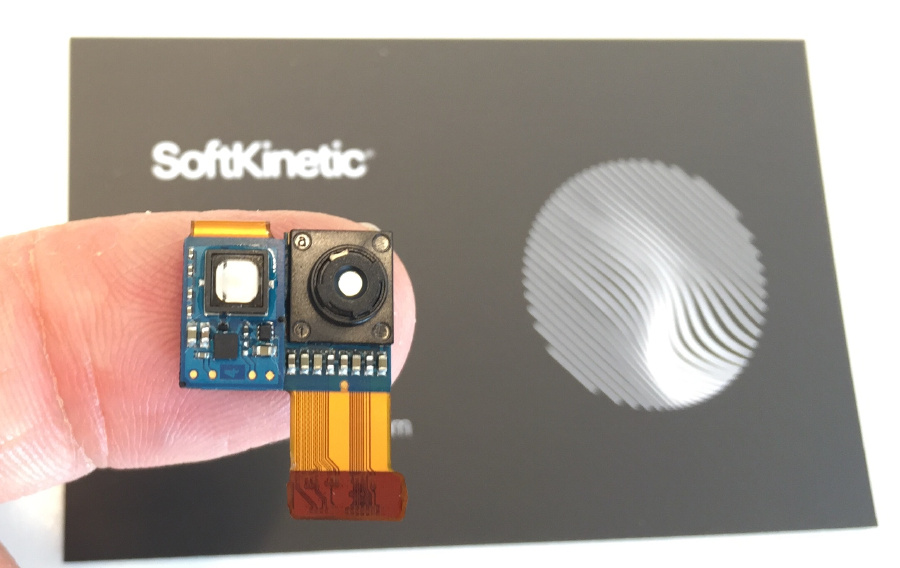 SoftKinetic's camera