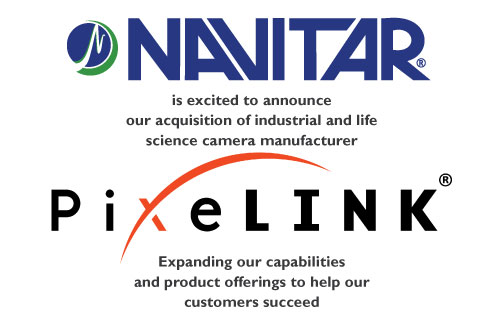 Navitar Purchases Canadian Camera Manufacturer PixeLINK