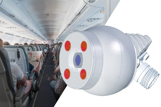 Kappa Flight Eye Camera FE 310 - Cabin