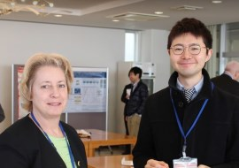 Assistant Professor Taichi Goto and Professor Caroline A. Ross