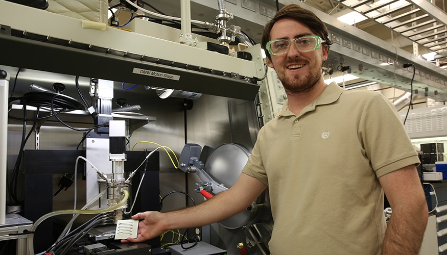 Lawrence Livermore scientist Luke Thornley