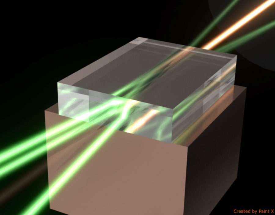 Researchers at Macquarie University have proven a method for multiplying laser power using diamond