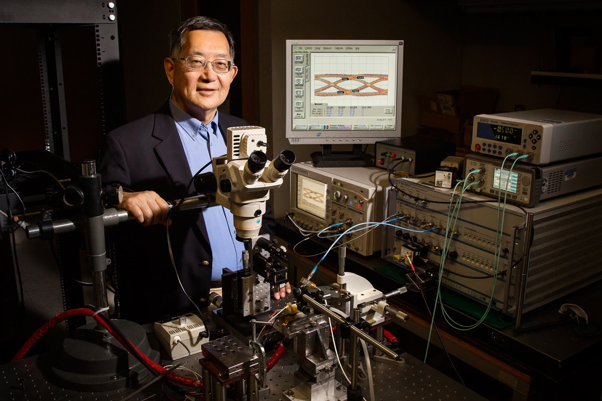 University of Illinois engineer Milton Feng and his team have introduced an upgrade to transistor lasers that could boost computer processor speeds