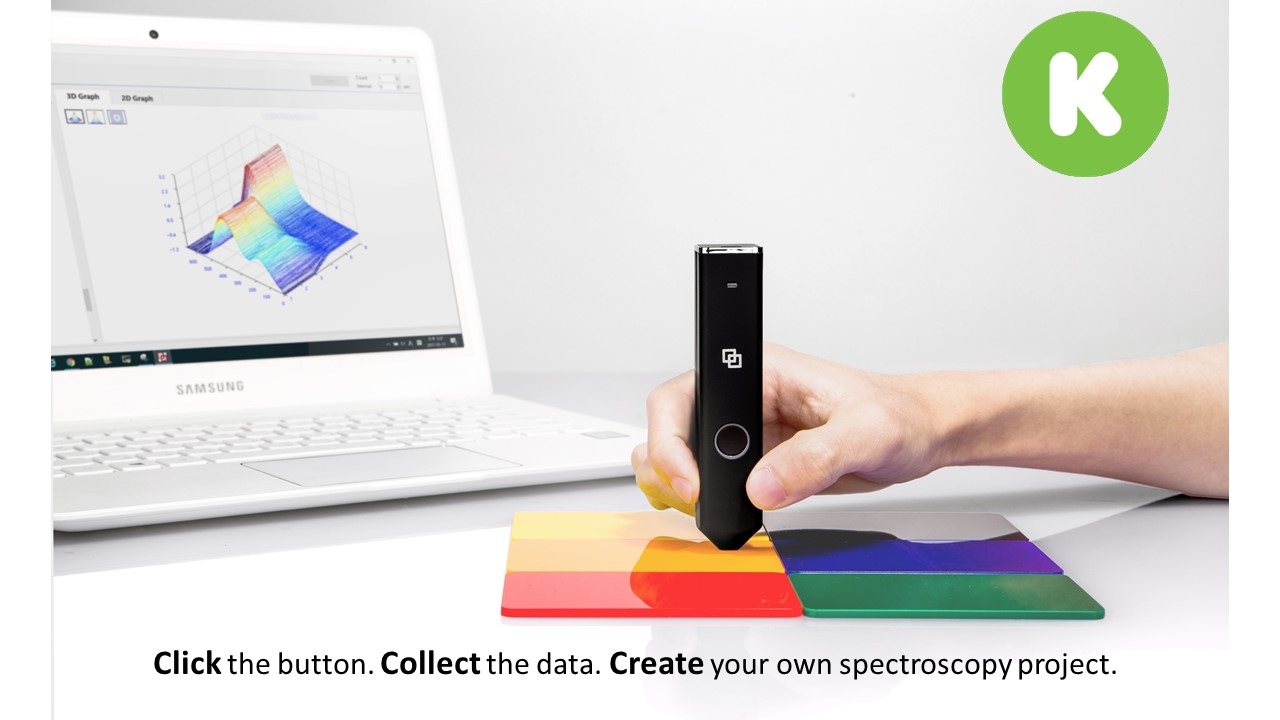 LinkSquare is an affordable handheld spectrometer
