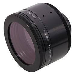 New UV LINOS F-Theta-Ronar Lens for 340-360nm