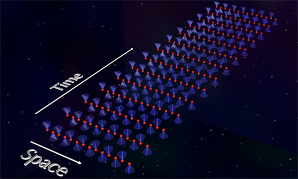Linearly polarized states of observed antiferromagnetic spin waves