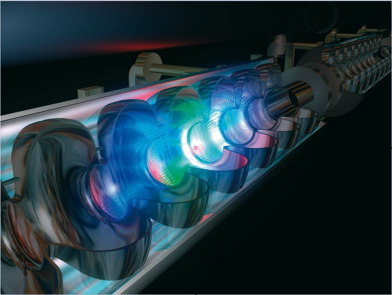 Upgrading x-ray lasers – a mechanical trick can be used to narrow the spectrum of the pulses emitted by x-ray lasers such as the XFEL free electron laser shown here