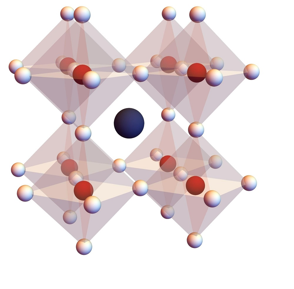 Crystal structure of the hybrid lead-halide perovskite material