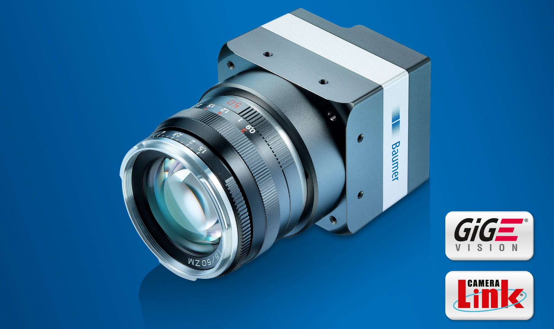 The new high-resolution LX cameras with 48 megapixels and up to 15 fps provide high resolution and excellent image quality to set new standards in highly-dynamic applications.