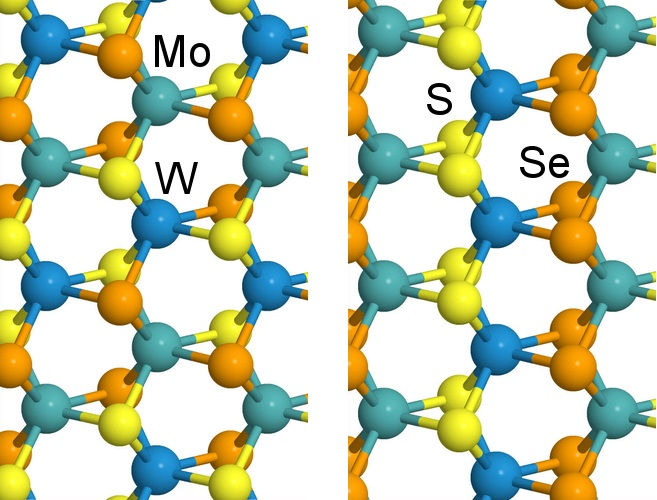 Subtle changes in growth temperature alters the form of a four-component alloy created at Rice University