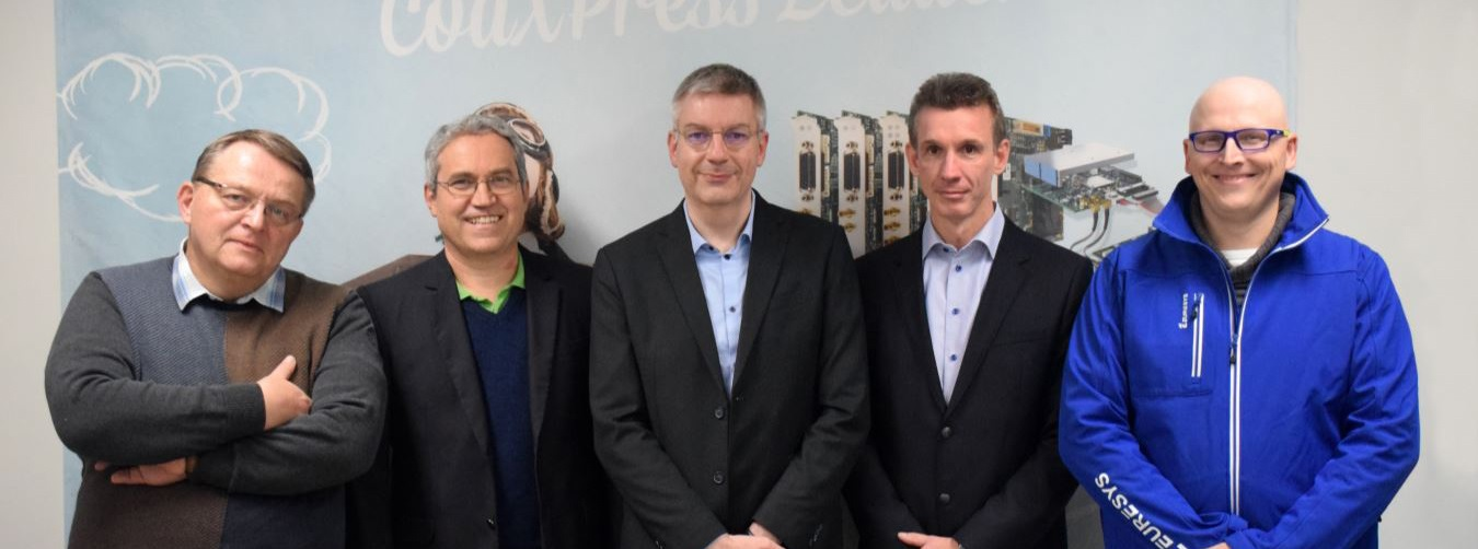 Claude Latin - Euresys COO, Werner Feith - Sensor to Image, Marc Damhaut, Euresys CEO - Jean-Bernard De Bal - VP Business Dev., Jean-Michel Wintgens, VP Engineering