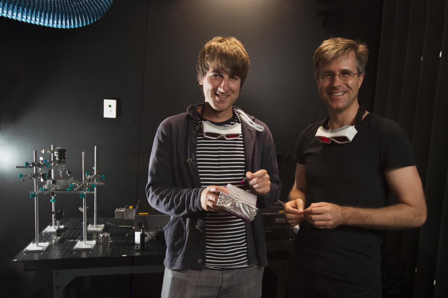 Christopher Barner-Kowollik and Hannes Houck, Queensland University of Technology