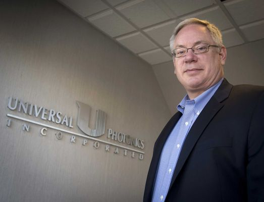 Universal Photonics President Neil Johnson