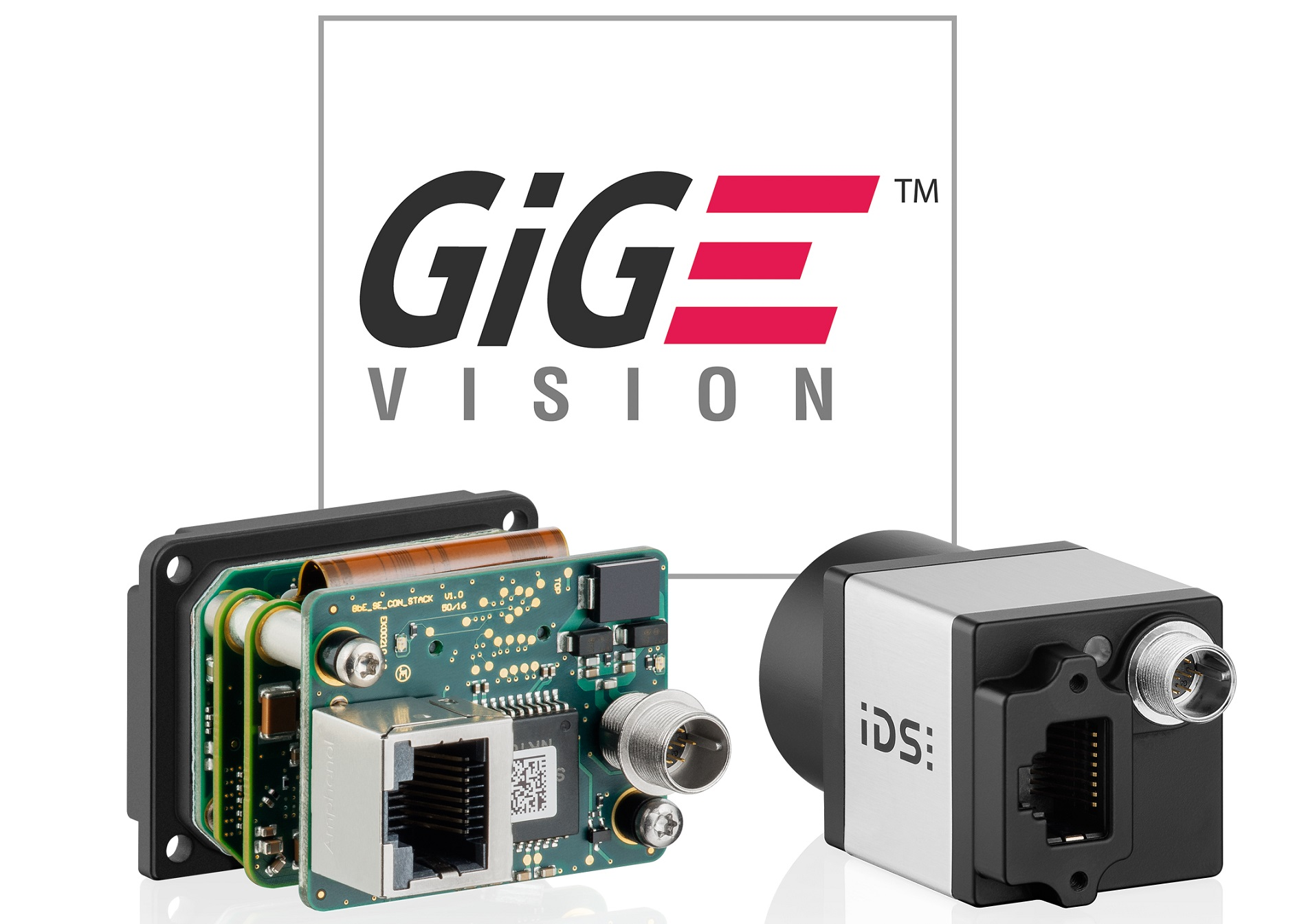 GigE Vision industrial camera