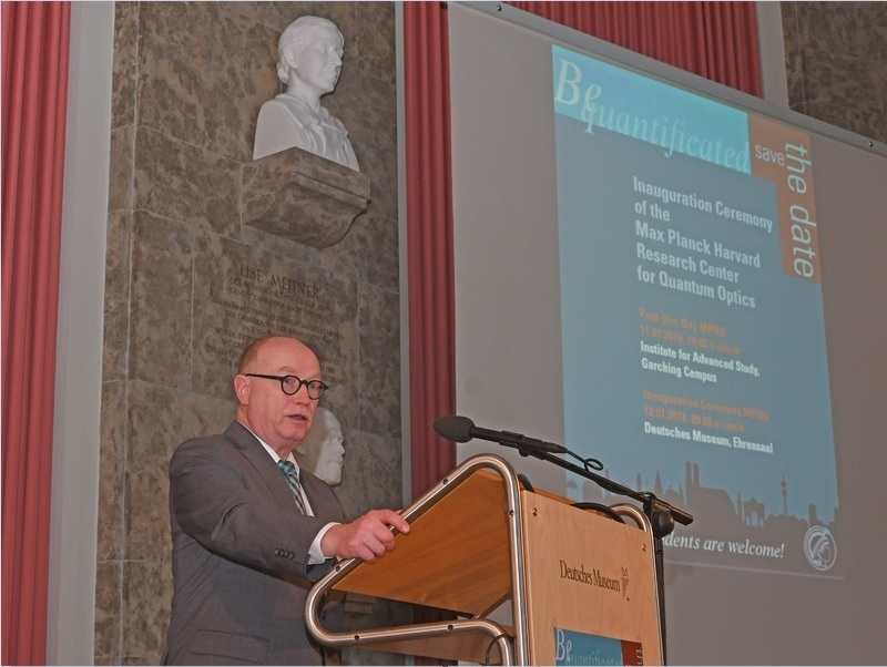 Prof. Dr. Martin Stratmann at the Inauguration ceremony on January 12, 2018
