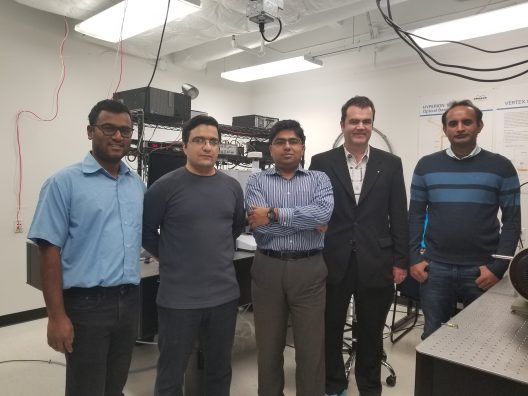 The UCF team demonstrated more than 45 percent absorption of light in a single layer of graphene –single atom thick material