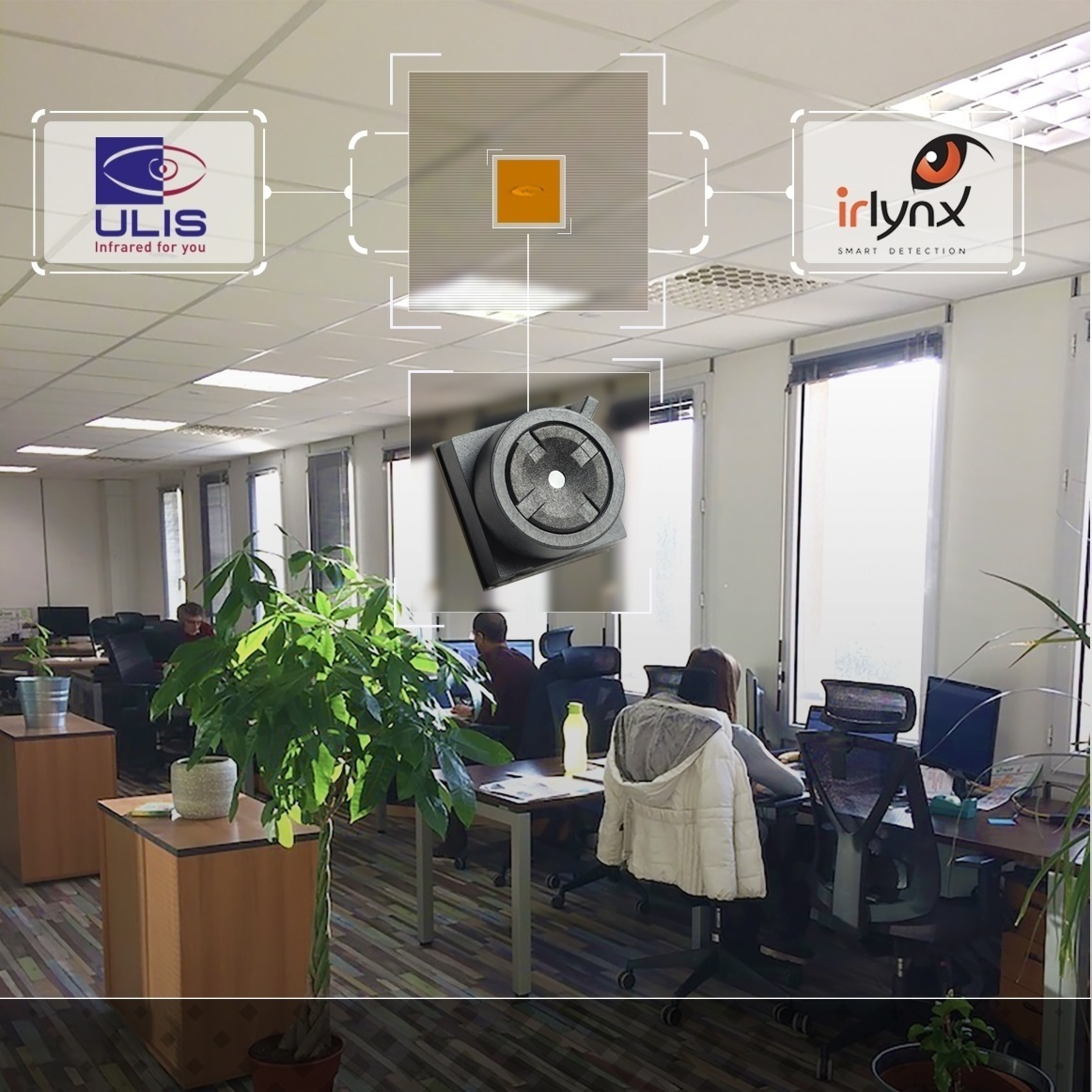 Irlynx will field test ULIS' thermal sensor in several pilot studies it is undertaking with GE Digital, NEXITY and SNCF, among other smart occupancy and people counting projects linked to optimizing open space areas and reducing building footprint