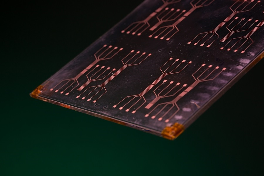 Researchers are developing a new material that could improve processing speed of sensors and other electronic components