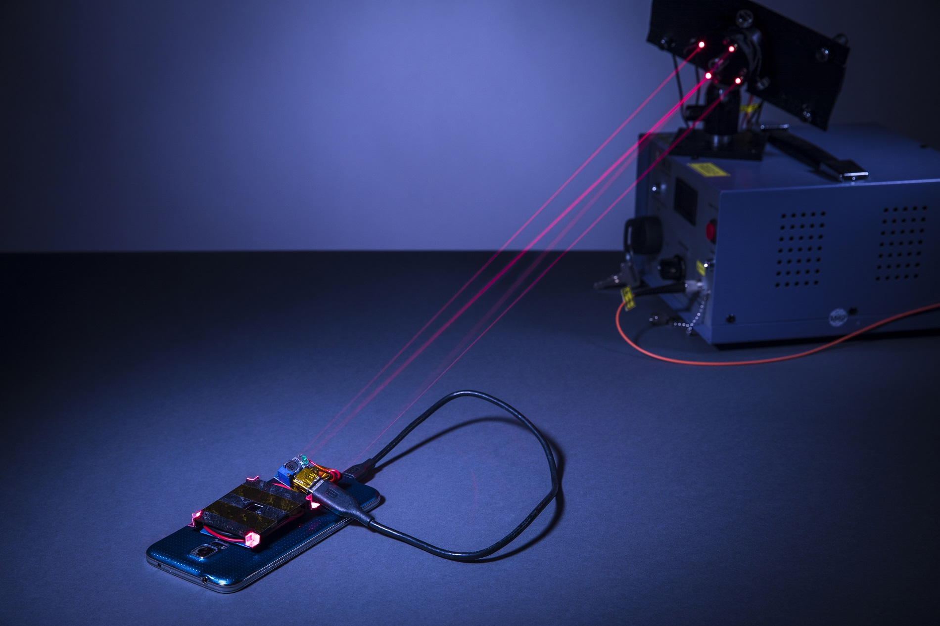 The wireless charging system created by University of Washington engineers