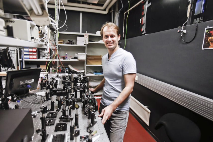 Professor Goëry Genty works in the Laboratory of Photonics at Tampere University of Technology.