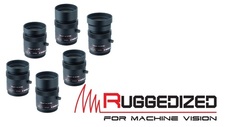 Computar announced the release of a line of ruggedized lenses
