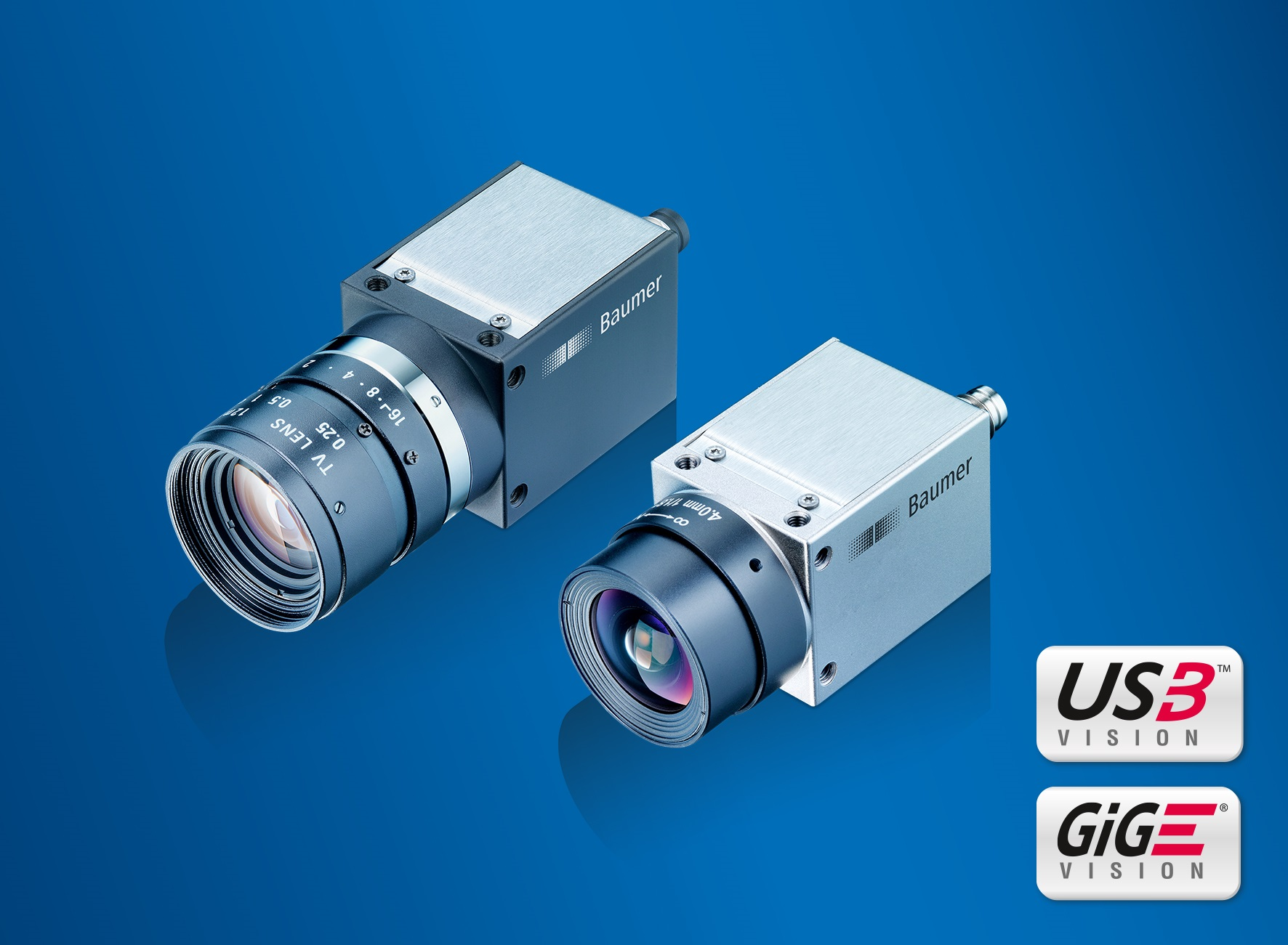 10 new models with rolling shutter sensors were added to the successful CX and EX Baumer camera series which now offers resolutions with 20 and 10 megapixel, respectively.