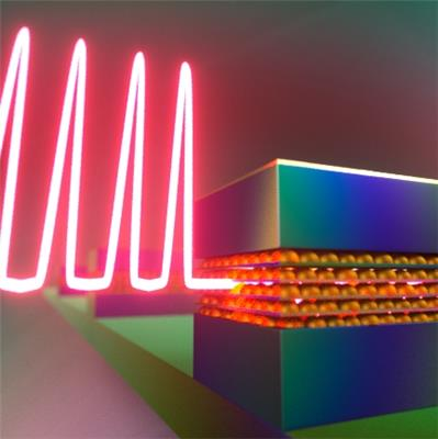 One type of laser that's particularly suited for quantum dots is a mode-locked laser, which passively generates ultrashort pulses less than one picosecond in duration